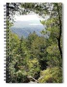 Forest View From Mt Tamalpais Spiral Notebook