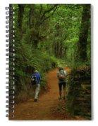 Forest Walkers, El Camino, Spain Spiral Notebook