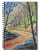Forest Way Spiral Notebook