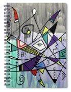 Forever  Hebrews 13-8 Spiral Notebook