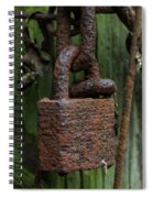 Forever Locked Spiral Notebook