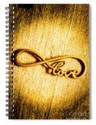 Forever Love Spiral Notebook