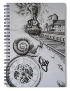 Forever On Time Spiral Notebook