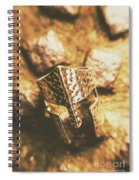 Forged In The Crusades Spiral Notebook