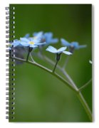 Forget-me-not 2 Spiral Notebook