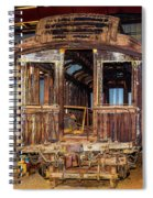 Forgotten Passenger Car Spiral Notebook