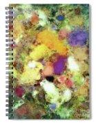 Forgotten Petals Spiral Notebook