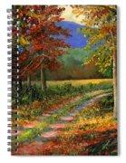 Forgotten Road Spiral Notebook