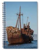 Forgotten Ship Wreck Spiral Notebook