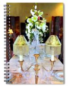 Formal Dining Spiral Notebook
