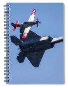 Formation Flying Spiral Notebook