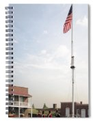 Formation Under The Flag At Fort Mchenry In Baltimore Maryland Spiral Notebook