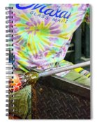 Forming The Head Spiral Notebook