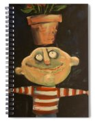 Forrest The Florist Spiral Notebook