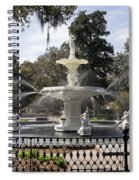 Forsyth Fountain Park Spiral Notebook