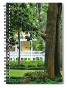 Forsyth Park Inn In Savannah  3205 Spiral Notebook