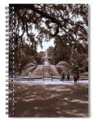 Forsyth Park Sepia Spiral Notebook
