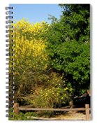 Forsythia Spiral Notebook