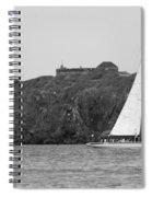 Fort Amsterdam Sailboat Spiral Notebook