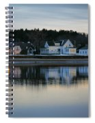 Fort Baldwin Winter Evening Spiral Notebook