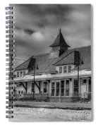 Fort Edward Train Station Spiral Notebook