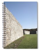 Fort Frederick In Maryland Spiral Notebook