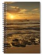 Fort Haze Beach Spiral Notebook