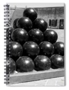 Fort Macon Cannonball Spiral Notebook