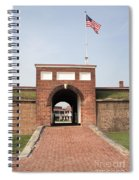 Fort Mchenry Gate In Baltimore Maryland Spiral Notebook