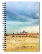 Fort Myers Pier Spiral Notebook