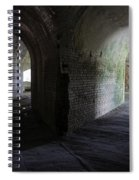 Fort Pickens Corridor 2 Spiral Notebook