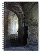 Fort Pickens Corridors Spiral Notebook