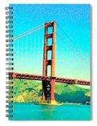 Fort Point Golden Gate Bridge Spiral Notebook