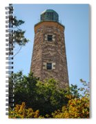 Fort Story Light House Spiral Notebook