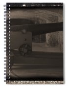 Fort Sumpter Cannon Spiral Notebook
