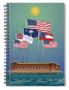 Fort Sumter, Charleston, Sc Spiral Notebook