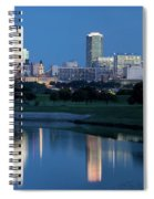 Fort Worth Blue 062217 Spiral Notebook