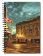 Fort Worth Impressions Main And Exchange Spiral Notebook