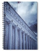 Fort Worth Impressions Post Office Spiral Notebook