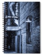 Fort Worth Impressions Scat Lounge Bw Spiral Notebook