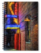 Fort Worth Impressions Scat Lounge Spiral Notebook