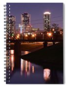 Fort Worth Panorama Spiral Notebook