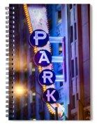 Fort Worth Park Sq Spiral Notebook