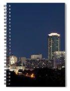 Fort Worth Skyline 051918 Spiral Notebook