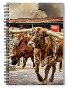 Fort Worth Stockyards Spiral Notebook