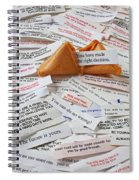 Fortune Cookie Sayings  Spiral Notebook