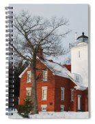Forty Mile Point Lighthouse Spiral Notebook