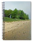 Forty Mile Point Lighthouse Springtime Spiral Notebook