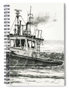 Foss Tugboat Sea Duke Spiral Notebook