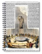 Foucaults Pendulum Spiral Notebook